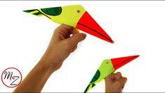 Finger toys for kids DIY : Paper bird making tutorial | Paper finger pup...