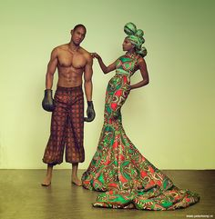 "Has to be one of THE most beautiful garments I've ever seen. ""African Beauty"" by Peter Kemp"
