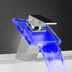 Temperature Sensitive Led Faucet – $45
