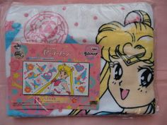 Sailor Moon 20th Anniversary Award bath towel in Collectibles | eBay