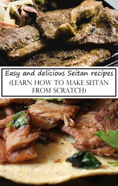 How to make Seitan from scratch - Munchyesta Easy Seitan Recipe, Seitan Recipes, Veggie Recipes, Vegetarian Recipes Dinner, Vegan Dinners, Dinner Recipes, Vegetarian Lifestyle, Vegan Protein Supplement, Protein Supplements