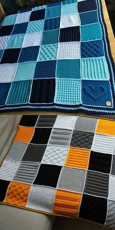 Cosy afghans blanket kostenlose hkelanleitung afghans blanket cosy hkelanleitung kostenlose crochet blanket pattern chunky granny squares farmhouse square by deborah o leary patterns crochet baby blanket granny square pattern Crochet Stitches For Blankets, Crochet For Beginners Blanket, Afghan Crochet Patterns, Crochet Squares, Crochet Granny, Knitted Blankets, Crochet Afghans, Crochet Baby, Granny Squares