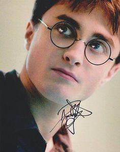 Daniel Radcliffe Autographed Signed 8X10 Photo COA 'Harry Potter'
