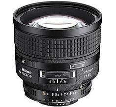 Nikon lenses Prime lens by Nikon AF NIKKOR 85mm f/1.4D IF Lens - Cameras Direct AUSTRALIA