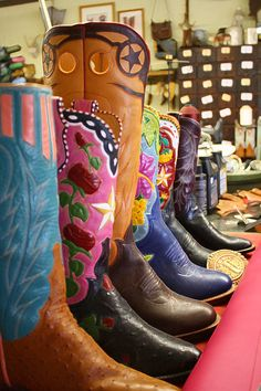 Boot maker, St Jo Texas