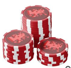 3D computer character Poker Chips, 3d, Gifts, Character, Presents, Favors, Gift