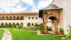 manastirea hurezi, horezu Romania, Mansions, Architecture, House Styles, Home Decor, Arquitetura, Decoration Home, Manor Houses, Room Decor