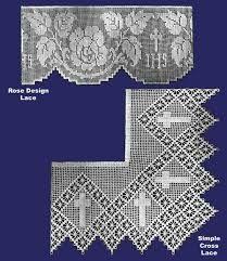 Risultati immagini per Lily altar filet crochet