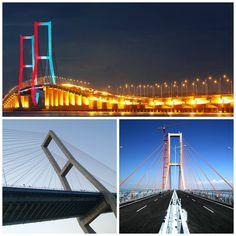 Puente Surabaya Madura. Surabaya Madura Bridge