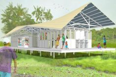 Vagalume Modular Eco-Libraries Will Cultivate Literacy & Protect the Amazon River | Inhabitat - Sustainable Design Innovation, Eco Architecture, Green Building