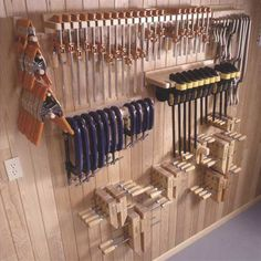 Buy Woodworking Project Paper Plan to Build Five Great Clamp Organizers at Woodcraft.com