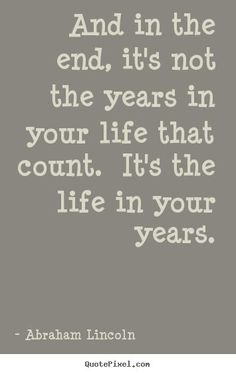 The life in your years ❤️