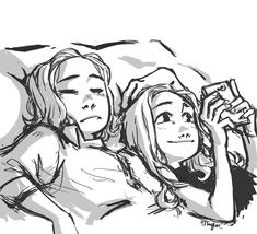 Cute Lesbian Couples, Lesbian Art, Lesbian Love, Facial Expressions Drawing, Yuri, The Maxx, Girls Cuddling, Waverly And Nicole, Universe Art
