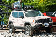 jeep renegade lifted   BAD ASS Lifted Jeep Renegade Running BFG's   ToasterJeep - Jeep ...