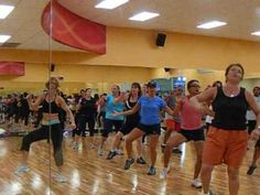 Danceaton Class!!!  This class is so much fun that you forget you are working out---at the rate of 700 calories an hour!!!!