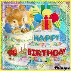 Happy Birthday, Geburtstag Happy Birthday Wishes For A Friend, Birthday Wishes Greetings, Happy Birthday For Him, Birthday Wishes Quotes, Birthday Gifs, Anniversary Congratulations, Photo Frame Design, Smiley Emoji, Birthdays