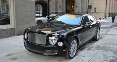Bentley Mulsanne 2014 Black