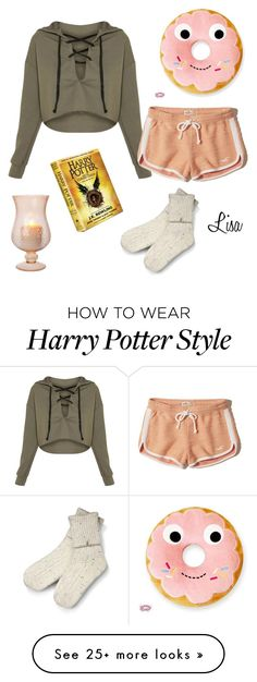 """""""Just Reading"""" by coolmommy44 on Polyvore featuring Hollister Co. and UGG"""