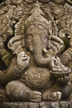 Ganesha in Bangkok temple
