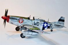 Another fine piece of work from Chuck Sawyer - His Tamiya 1/32 P-51D. Beautiful work and lots of good tips to learn from.