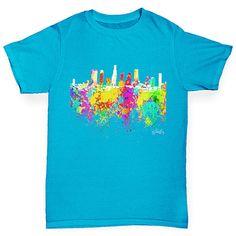 Los Angeles Skyli...  http://twistedenvy.com/products/los-angeles-skyline-ink-splats-boys-t-shirt?utm_campaign=social_autopilot&utm_source=pin&utm_medium=pin   Shop for Amazing Art  Show your Creative side.  #Twistedenvy