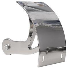 Yana Shiki CYS2549055 Chrome License Plate Frame Swing Arm Mount Tag Bracket for Suzuki Boulevard M109R