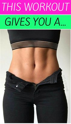 Workouts That Gives You A Flat Belly!