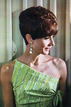 Rare Audrey Hepburn — Audrey Hepburn photographed backstage at the 39th...
