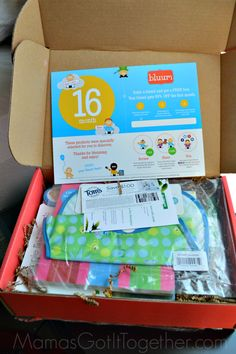 16 Month Bluum Box Review- Subscription Box for Mama & Baby- Get 50% off your first box!!