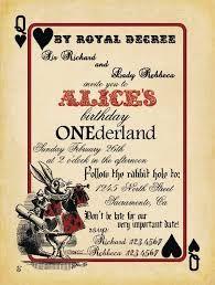 Alice In Wonderland Free Printable Pdf Invitations Putti Fine