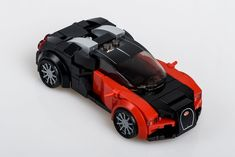 Outrageous is the only way to describe the Bugatti Veyron. The fastest production car in the world with a top speed of Legos, Easy Lego Creations, Lego Wheels, Lego Sports, Lego Racers, Lego Police, Lego Speed Champions, Lego Modular, Lego Construction