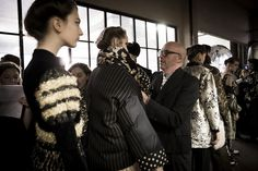 Antonio Marras Photos - This image has been altered with digital filters) Antonio Marras is  seen backstage ahead of the Antonio Marras show during Milan Fashion Week Fall/Winter 2018/19 on February 23, 2018 in Milan, Italy. - Antonio Marras - Backstage - Milan Fashion Week Fall/Winter 2018/19