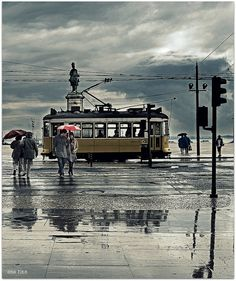 lluvia en la ciudad..