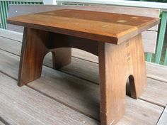 one mahogany, one cherry, both wedged tenon through the tops. cherry stool has pinned tenons between the legs and stretcher. mahogany stool is all through wedged tenons. original stool was...