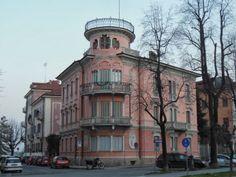 Cuneo e dintorni: Antiche ville, fra liberty e neoclassico sul Viale...