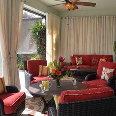 Patio Curtains for non screen patios! Love, love