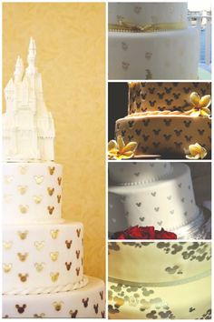 Disney Wedding Round Up: Stamped Wedding Cakes | Magical Day Weddings | A Wedding Atlas Fan Site for Disney Weddings