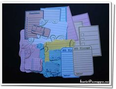 """journaling squares for my """"smash book"""" #smashbook"""
