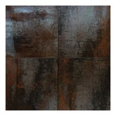 "Found it at Wayfair - Nickel Antares 16"" x 24"" Porcelain Metal Tile in Brown"