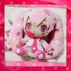 Prize❤vocaloid Sakura Miku HATSUNE❤2014 Cute Plush❤smile❤taito Japan   eBay