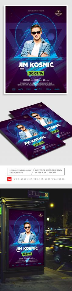 Special Dj Electronic 3. Great poster / flyer for Promoting your EDM, Trance , techno, dubstep / electronic music Event / festival. Download Photoshop (.Psd) file here : http://graphicriver.net/item/special-dj-electronic-dance-music-flyer-poster-3/8684744?ref=kwangsoo