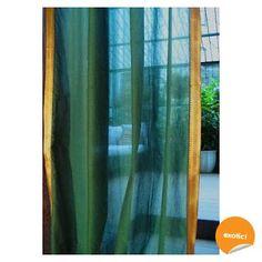 Frangipani Décor: Saree curtains