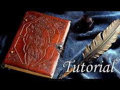 Cómo hacer un libro artesanal. Tutorial de encuadernación | How to make a handmade book - YouTube