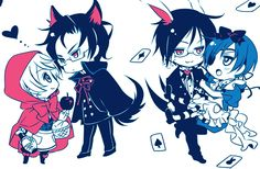 Fairytail Black Butler