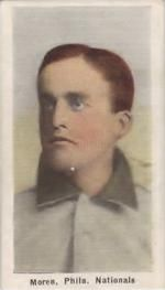 1910-11 Sporting Life M116 #186a Lew Moren Front