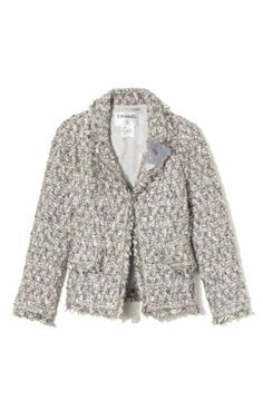 Chanel Frothy Bouclé Tweed Jacket