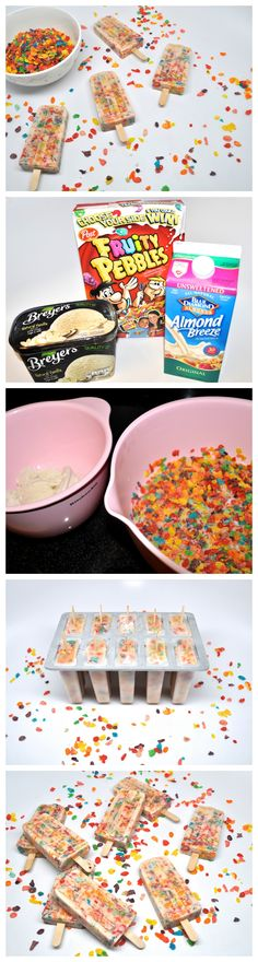 Cereal & Milk Breakfast Popsicles : Stoney Clover Lane Birthday breakfast for my Summer babies.