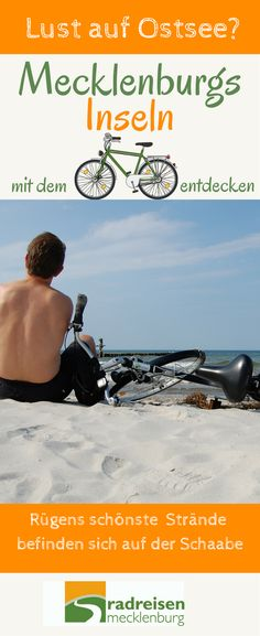Lust auf Rügen, Hiddensee, Fischland-Darß-Zingst und die schönen Hansestädte Rostock und Stralsund? Der Ostseeküstenradweg verbindet alles. #Fahrrad  #Deutschland #Ostsee #Rügen