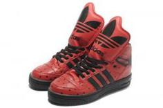 Adidas Originals JS Metro Attitude Logo Hi Red Black | 3K-Store