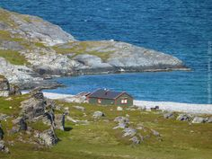 'Nordic House' Finnmark, Norway  #house #nordic #arctic #finnmark #norway #sea #travel #travelphotography #pictures #topVISE
